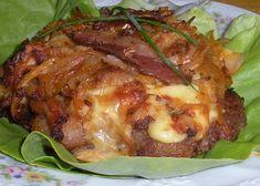 Czech Recipes, Ethnic Recipes, Pizza Lasagna, Recipe Master, Meat Salad, Graham Crackers, Baked Potato, Salads, Good Food