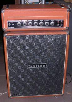 Solton CV60 Gitarren Tubehead + Cabinet, 2xEL34 Rare & Vintage in Berlin - Prenzlauer Berg   Musikinstrumente und Zubehör gebraucht kaufen   eBay Kleinanzeigen