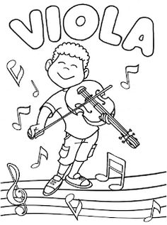 Music For Kids, My Music, Art For Kids, Music Worksheets, Worksheets For Kids, Colouring Pages, Coloring Books, Music Symbols, Music And Movement