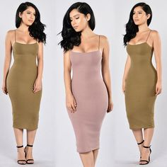 "❤️RESTOCK ALERT❤️⠀⠀ Search: ""Shake It Dress""⠀ Search: ""Strapped Success"" Heels⠀ ✨www.FashionNova.com✨"