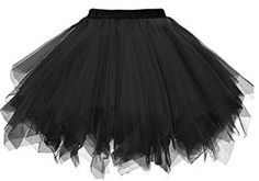 Here is a black tutu that can go under a skirt for your DIY Dizzy Tremaine costume
