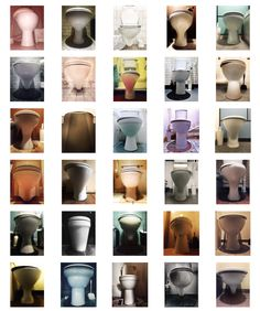 """Szuszi Loo is a smartphone photographer who has created a beautiful typology of toilets on instagram called potty4porcelain. """"It's more about form than function."""" https://www.instagram.com/potty4porcelain/"""