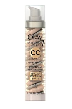 Olay Total Effects Tone Correcting CC Cream with SPF - great for hydration and improving tone acc to GH