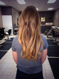 Baylayage Ombré hair for Spring/Summer