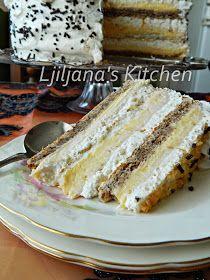 Keto could be SO simple. Torte Recepti, Kolaci I Torte, Croatian Cuisine, Croatian Recipes, Iced Lemon Pound Cake, Torte Cake, Dessert Cake Recipes, Buttercream Recipe, Cake Flavors