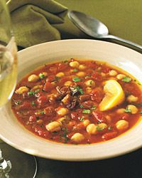 Chickpea and Lentil Soup
