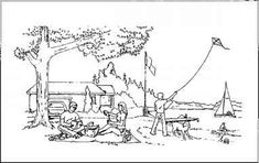 Source: Picnic scene picture from Western Aphasia Battery by Kertesz, A., 1982, by The Psychological Corporation, a Harcourt Assessment Company. Reproduced with permission. All rights reserved.