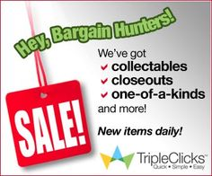 """HERE IS HOW To NAVIGATE THIS SITE TO SEE PRODUCTS AND SERVICES SOLD AT YOUR STORE """"TRIPLECLICKS""""!!! 