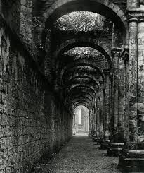 """liquidnight: """" Bill Brandt Fountains Abbey, 1946 From The Photography of Bill Brandt """" Bill Brandt Photography, London Photography, White Photography, Abandoned Property, Abandoned Places, Prague, Westminster Abbey, Photography Classes, Best Location"""