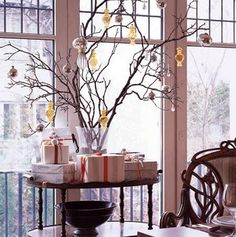 Twig Tree Decor
