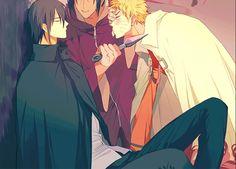 """Itachi !! XD He's like """"don't you dare"""" #SasuNaru #NaruSasu"""