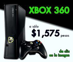 XBox 360 a $1575 pesos