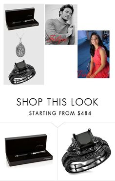 """""""Segunda Chance - Capitulo:  12"""" by kayallacullen on Polyvore featuring moda, S.T. Dupont e Carolina Glamour Collection"""