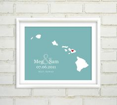 @Adrienne Daugherty - thought this was really cute! Personalized Wedding Location by BetweenEverything, $24.00