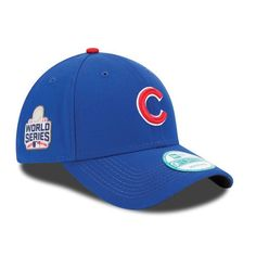 9f1c14eb09 Men s Chicago Cubs New Era Royal 2016 World Series 9FORTY Adjustable Hat