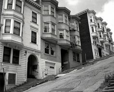 Telegraph Hill, San Francisco.Kearny St. between Broadway and Vallejo, 1994