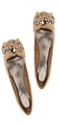 ALDO flats.  I really love the bows and the sparkle!