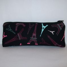 PouchAPalooza.com - Pipe Pouch Eiffel Tower Pouch Pipe Case Pipe Bag Girly