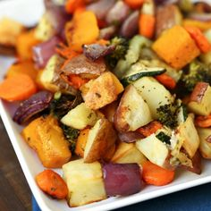 Oven-Roasted Vegetables are a delicious side dish your family can enjoy all year round as part of your dinner menu. It's a super delicious way to eat veg!