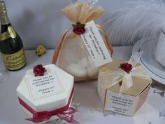 Ideas for a customer of Birthday Favours for a join Mum & Dad's birthday