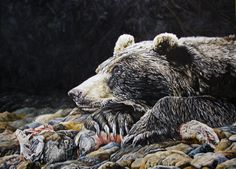 ''REMAINS OF THE DAY'' 20X40'' OIL
