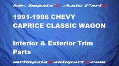 1991 92 93 94 95 96 Chevy Caprice Classic,Caprice,9c1 wagon interior and exterior trim parts-http://mrimpalasautoparts.com