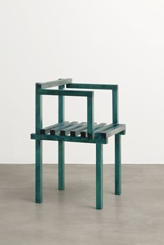 Unique wooden chairs for TORRI gallery by Fredrik... - Thisispaper