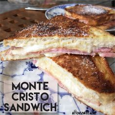 Monte Cristo Sandwich Breakfast today, July 26, 2015 Always a great way to start your weekend or holiday