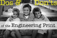 dos and donts for engineering prints
