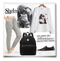 """#5/4 Shein"" by almira-mustafic ❤ liked on Polyvore featuring Kate Spade"