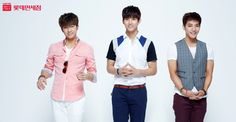 Wooyoung, Taecyeon and Minjun