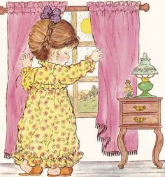 Sarah Kay by roslyn Sarah Key, Holly Hobbie, Sarah Kay Imagenes, Cute Images, Cute Pictures, Mary May, Creation Photo, Dibujos Cute, Vintage Drawing