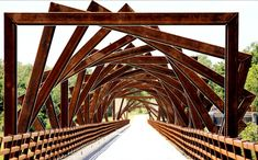 Ponte em Madrid, Iowa, EUA