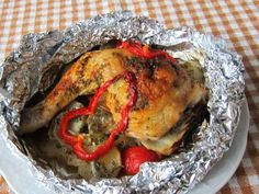 Poultry, Grilling, Turkey, Meat, Chicken, Recipes, Food, Peeling Potatoes, Aluminium Foil