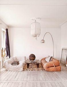 Suède / La maison d'une architecte d'intérieur /