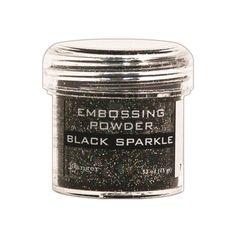 Ranger Embossing Powder BLACK SPARKLE EPJ37460 zoom image