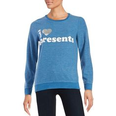 Chaser Graphic Sweatshirt ($78) ❤ liked on Polyvore featuring tops, hoodies, sweatshirts, cobalt blue, crew-neck sweatshirts, graphic sweatshirts, crewneck sweatshirt, sweat shirts and chaser sweatshirt