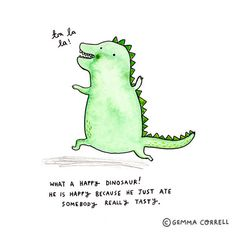 Dino! by Gemma Correll