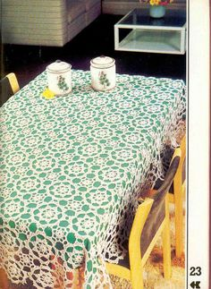World crochet: Tablecloth 269