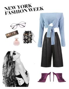 """New York Fashion Week"" by sofiakub ❤ liked on Polyvore featuring Sedgwick, Robert Rodriguez, Boohoo, Giuseppe Zanotti, Alexander McQueen and Urban Decay"