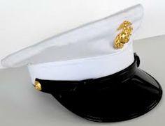US Marine Dress Hat Marine Cake, Dress Hats, Usmc, Captain Hat, Dresses, Fashion, Vestidos, Moda, Fashion Styles