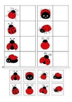 Preschool Learning Activities, Preschool Worksheets, Toddler Activities, Preschool Activities, Kids Learning, Activities For Kids, Kids Education, Kids And Parenting, Matching Games