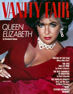 Queen Liz for VF 1985 by Helmut Newton ♣♣Elizabeth Taylor♣♣OCCUPATION: Film Actress BIRTH DATE: February 27, 1932 DEATH DATE: March 23, 2011 PLACE OF BIRTH: London, England PLACE OF DEATH: Los Angeles, California less about Elizabeth BEST KNOWN FOR  Actress Elizabeth Taylor starred in films like Cat on a Hot Tin Roof and Butterfield 8, but was just as famous for her violet eyes and scandalous love life.