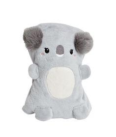 Plaid peluche koala - Cocoon up ! - Les accessoires - Lingerie de nuit