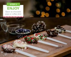 Sweeten up your holiday with chocolate-dipped spoons! Get the ingredients for this easy recipe here:• Milk Chocolate Chips • White Chocolate Chips • Nice! 100% Pure Canola Oil • Nice! Heavy Duty...
