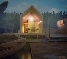 Photoshop Tutorial : Architectural night Perspectives