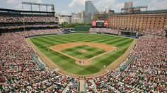 Oriole Park at Camden Yards Seating Chart, Pictures, Directions, and History - Baltimore Orioles - ESPN Baltimore Orioles Stadium, Baltimore Maryland, The Places Youll Go, Places Ive Been, Places To Visit, Baseball Wallpaper, Baseball Park, Baseball Stuff, Mlb Postseason