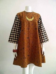 Batik Blazer, Blouse Batik, Batik Dress, Batik Fashion, Abaya Fashion, Fashion Dresses, Model Baju Batik, Model Kebaya, African Wear
