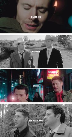 i like me better when i'm with you #spn #destiel