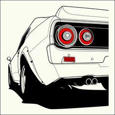 Nissan Skyline 73'